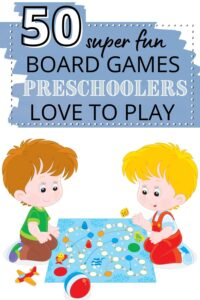 fun board games for preschoolers pinterest pin