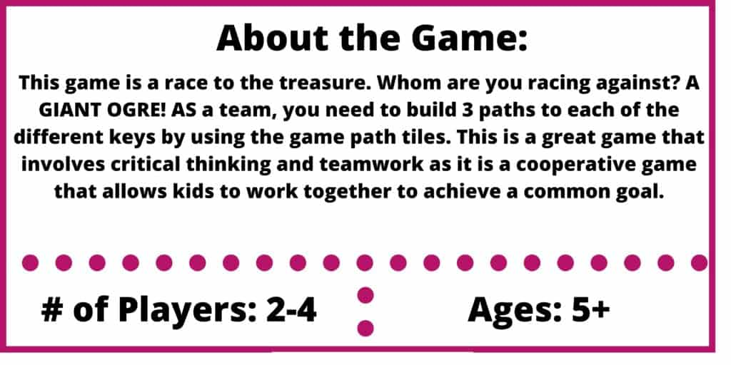race to the treasure game review