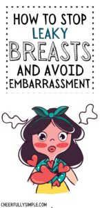 what to do when your breasts leak pinterest pin