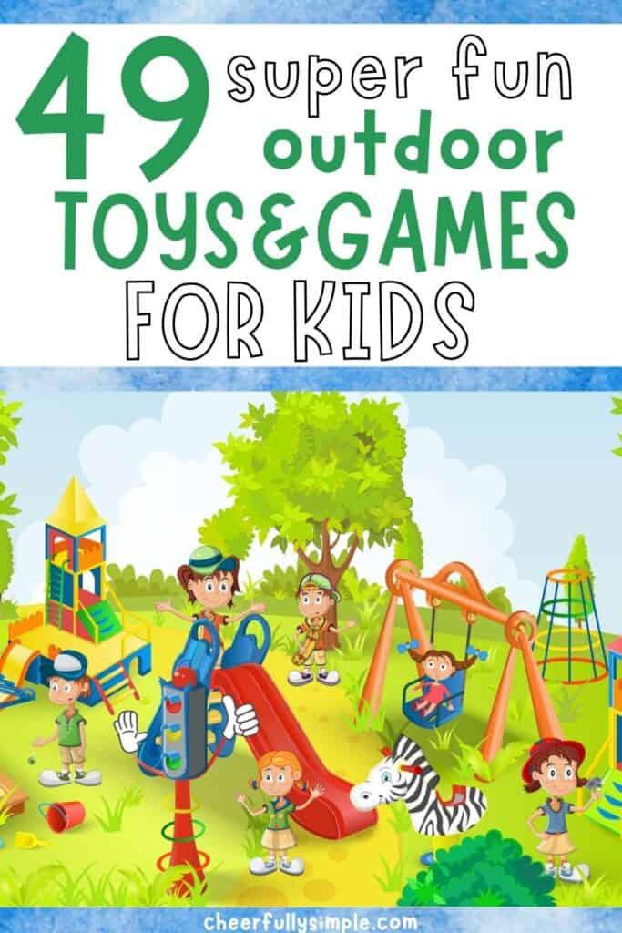 fun kids outdoor toys pinterest pin