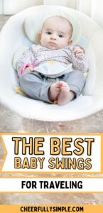 compact baby swing pinterest pin