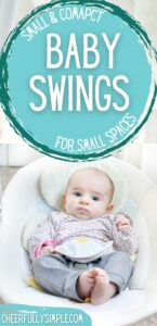 best baby swing for traveling pinterest pin