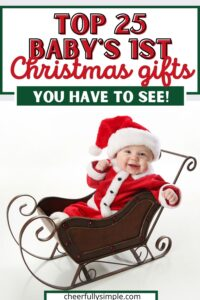 baby's first Christmas gift ideas pinterest pin