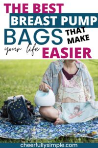 breast pump bag for working moms pinterest pin