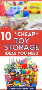 cheap toy storage ideas pinterest pin