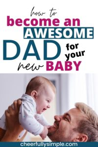 tips for new dads pinterest pin