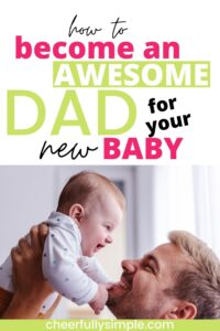 tips to be a new dad pinterest pin