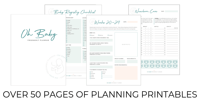 oh baby pregnancy planner affiliate
